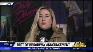 News video: Best of Broadway Announcement Today