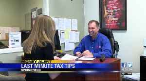 News video: Local expert shares last minute tax day tips