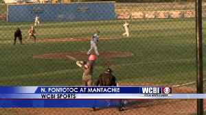 News video: North Pontotoc Bats Get Hot Late in Monday Night Victory at Mantachie