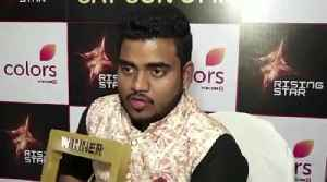 Exclusive Interview Of 'Rising Star 2' Winner Hemant Brijwasi Bollywood Events [Video]