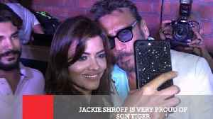 News video: Jackie Shroff Is Very Proud Of Son Tiger