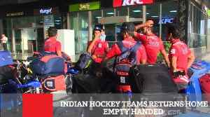 News video: Indian Hockey Teams Returns Home Empty Handed