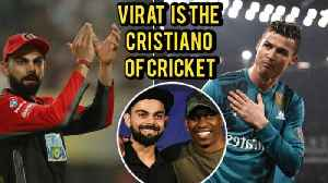 News video: Dwayne Bravo Calls Virat Kohli The Cristiano of Cricket at New Era India Event, Mumbai
