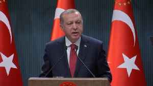 News video: Turkey's Erdogan calls snap election