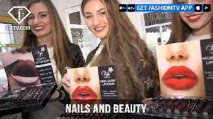 News video: NAILS AND BEAUTY by hypnotic and VIP for Lips Lashes and Nails April 18 | FashionTV | FTV