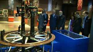 News video: Prince Charles and Narendra Modi visit the Science Museum