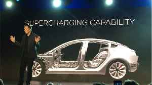 News video: Tesla Rallies After Musk Boosts Model 3 Production