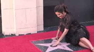 News video: Eva Longoria's Walk of Fame Ceremony