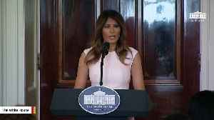 News video: Melania Trump To Attend Funeral Of Barbara Bush
