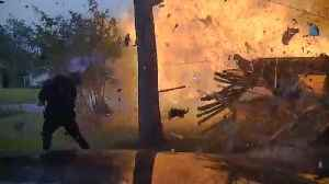 News video: Watch House Explode in Front of Cops