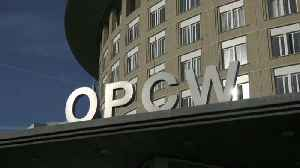 News video: Britain and Russia continue their war of words at the OPCW