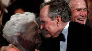 News video: George H. W. Bush Issues Statement On Wife Barbara's Death