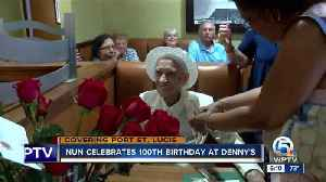 News video: Nun gets Port St. Lucie restaurant booth named in her honor