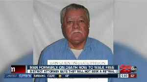 News video: Man formerly on death row to walk free