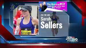 News video: Marathon runner Sellers not ready to quit her day job