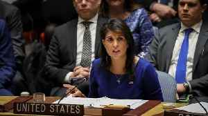 News video: Haley Fires Back At Suggestion She Was Confused About Russia Sanctions