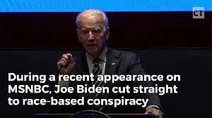 News video: Joe Biden Goes On Al Sharpton's Show And Plays An Outrageous Race Card