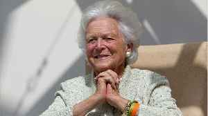 News video: Barbara Bush, Former First Lady, Dies At 92