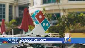 News video: Pizza Delivery Now Goes Beyond Your Couch