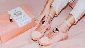 News video: Puma Debuts Sneakers Inspired by Beloved M.A.C. Lipstick Shades