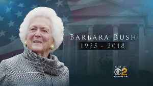 News video: Former First Lady Barbara Bush Dies At 92