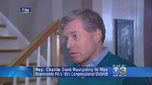 News video: Rep. Charlie Dent Resigning In May