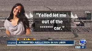 News video: DU professor tweets about terrifying attempted abduction during an Uber ride to the airport