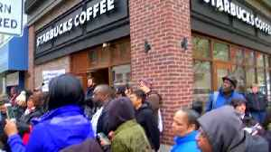 News video: Starbucks to close 8,000 stores for race-sensitivity class