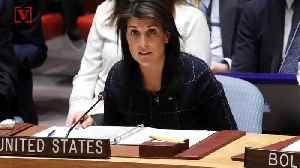 News video: 'I Don't Get Confused.' Nikki Haley Fires Back At White House About New Russia Sanctions