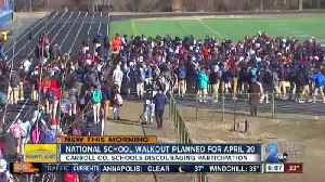 News video: Schools react after another walkout to end gun violence planned