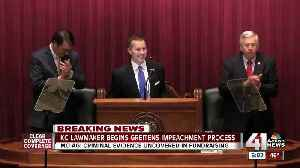 News video: Minority Leader files resolution to start impeachment process for Gov. Greitens
