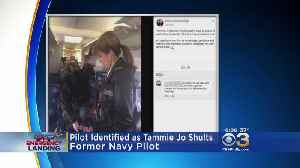News video: Pilot Of Southwest Flight With Blown Engine Was Navy Fighter