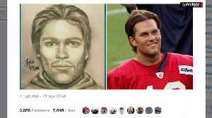 News video: Sketch of Man Who Allegedly Threatened Stormy Daniels Looks Like Tom Brady