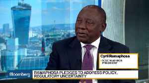 News video: South Africa's Ramaphosa Sees Potential for 3% Growth