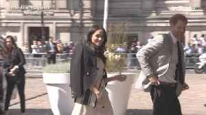 News video: Right Now: Prince Harry and Meghan Markle Attend Commonwealth Summit