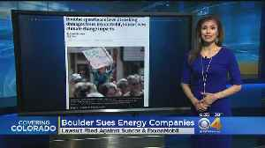 News video: Boulder Joins Climate Change Lawsuit