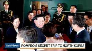 News video: Trump-Kim Meeting Groundwork Set by CIA Secret Visit to North Korea