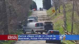 News video: Rostraver Police Chase Ends In Crash; Suspect Had Girl, 3, In Car