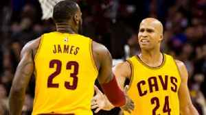 News video: Richard Jefferson on playing with LeBron: He's the No. 1 camaraderie guy that I've ever been around on any level