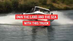 News video: Amphibious truck drives on water and land