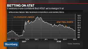 News video: AT&T Could Win M&A Battle with U.S. Government