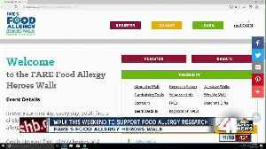 News video: Walk to support food allergy research happening in KC this weekend