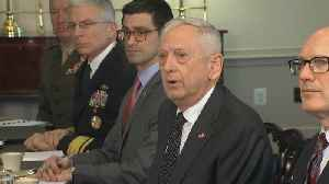 News video: Mattis blames Syria for chemical inspection delay