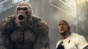 News video: Why Did The Rock threaten To Quit 'Rampage'?
