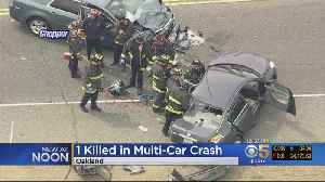News video: One Dead In Fatal Multi-Vehicle Crash In Oakland