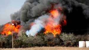 News video: Wildfires rage in Oklahoma