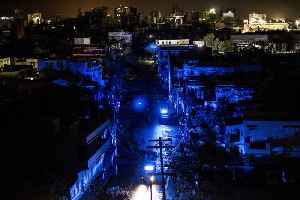 News video: Puerto Rico Suffers Island-Wide Blackout 7 Months After Hurricane Maria