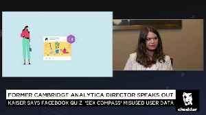 News video: Ex-Cambridge Analytica Employee: Facebook's Disclosures