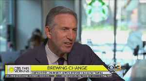 News video: Starbucks CEO Discusses Company Changes On CBS This Morning