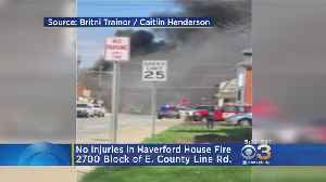 News video: No Injuries In Haverford House Fire